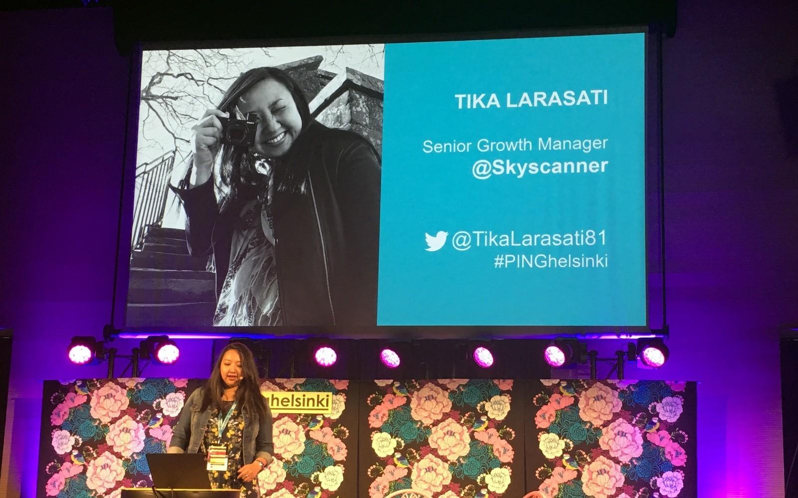 #pinghelsinki 2017 Tika Larasati