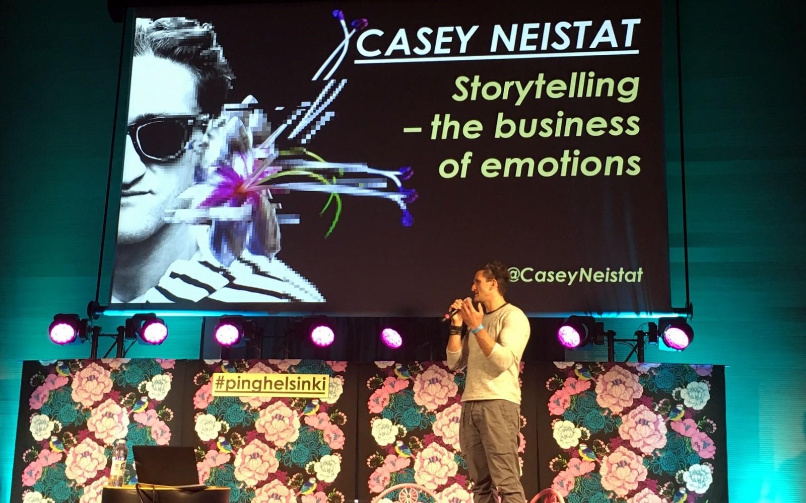 #pinghelsinki 2017 Casey Neistat