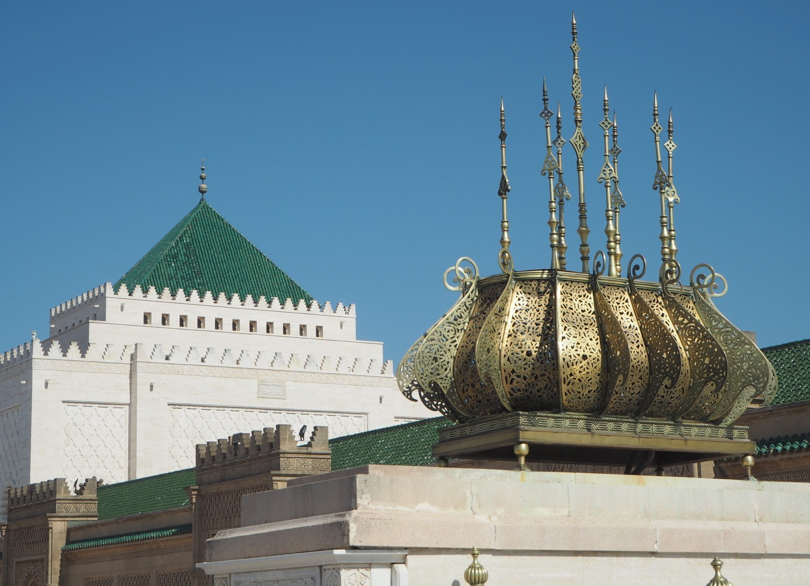 Mohammed V mausoleumi Rabat