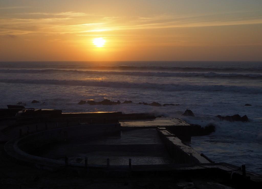 Auringonlasku Casablancassa