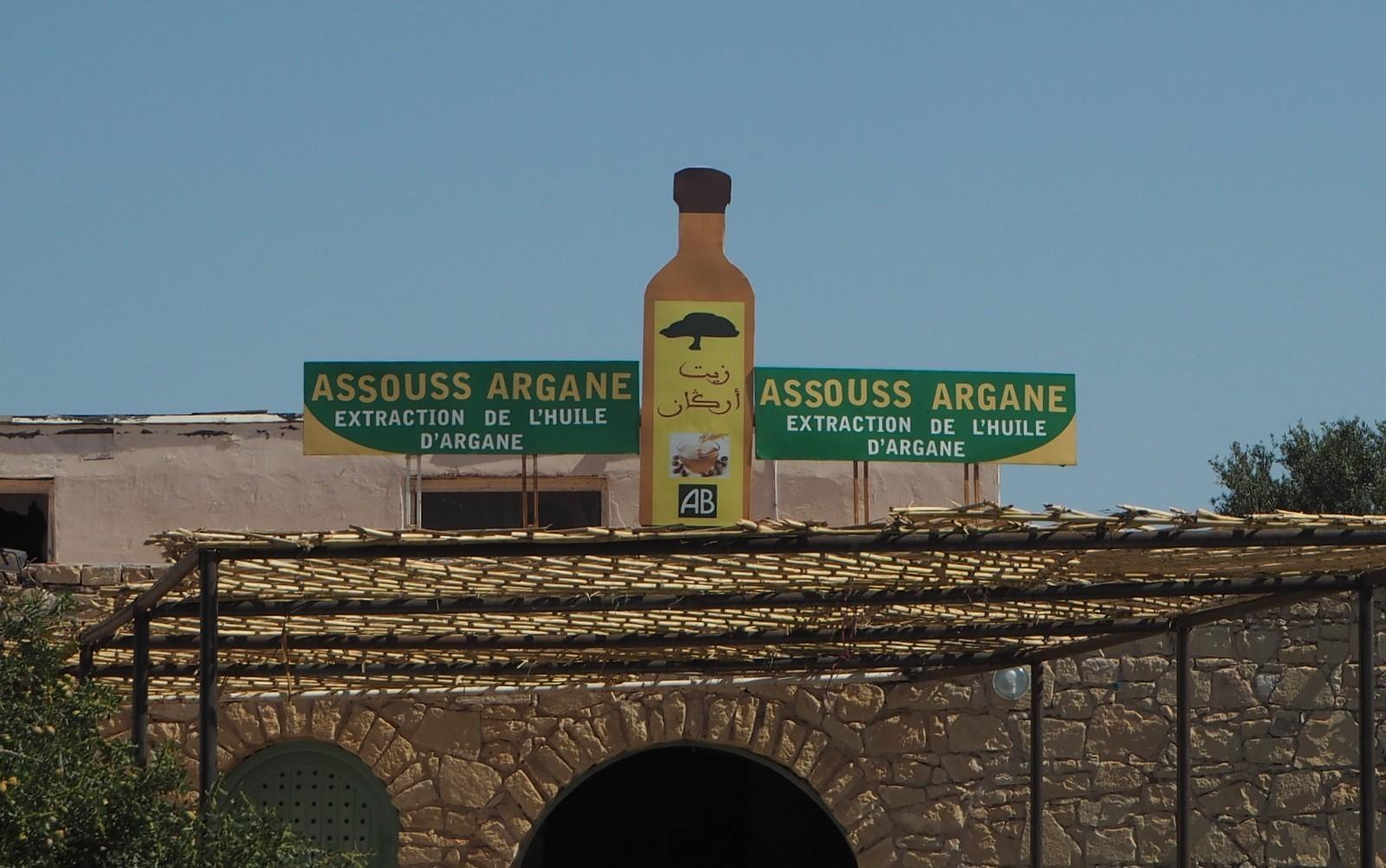 Argan öljy Essaouira