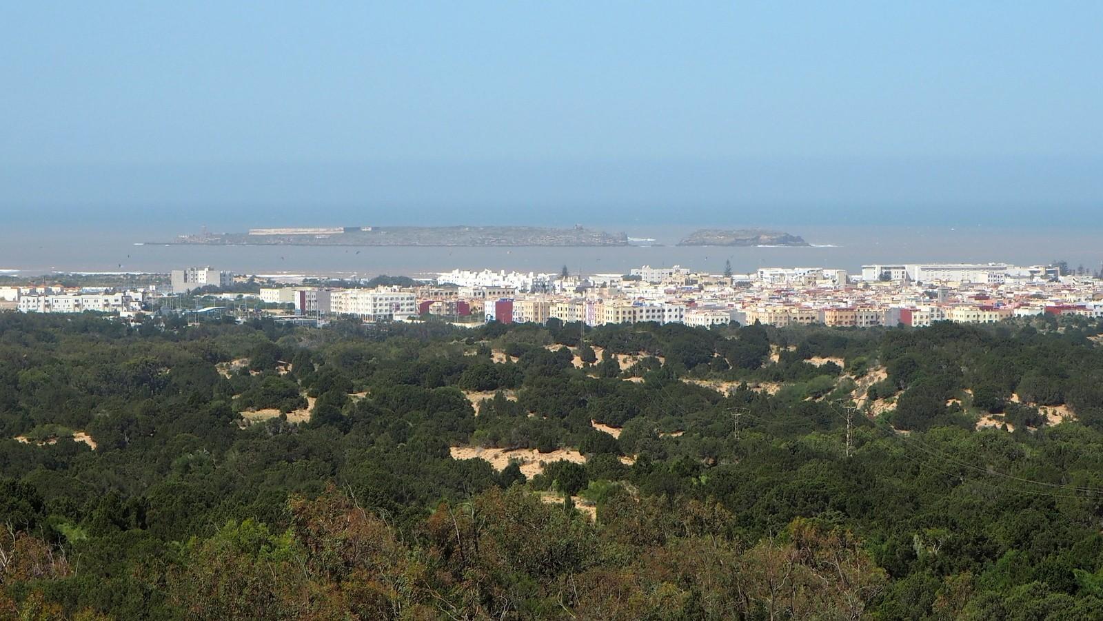 Essaouira näköala Mogador