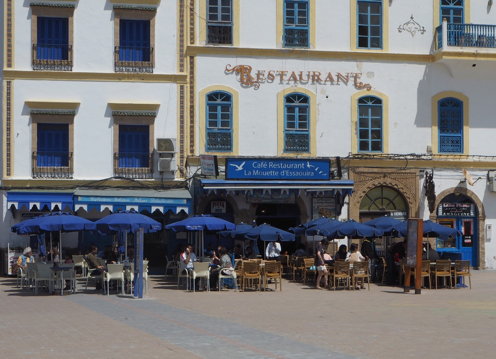 Essaouira keskusaukio