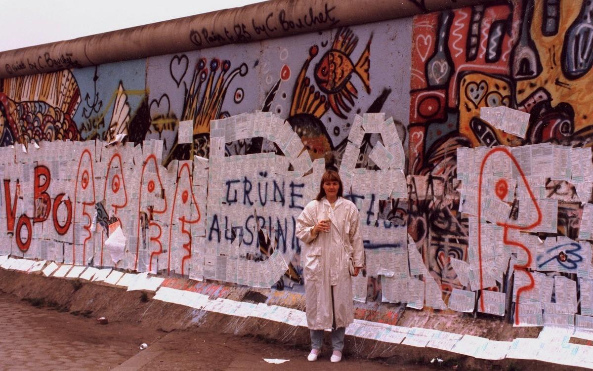 Berliinin muuri 1987