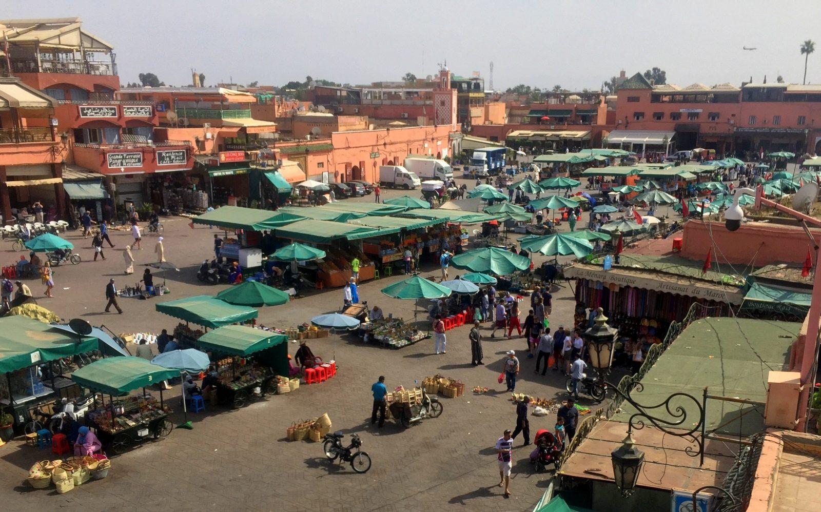 Marrakesh medina Jemaa el-Fna