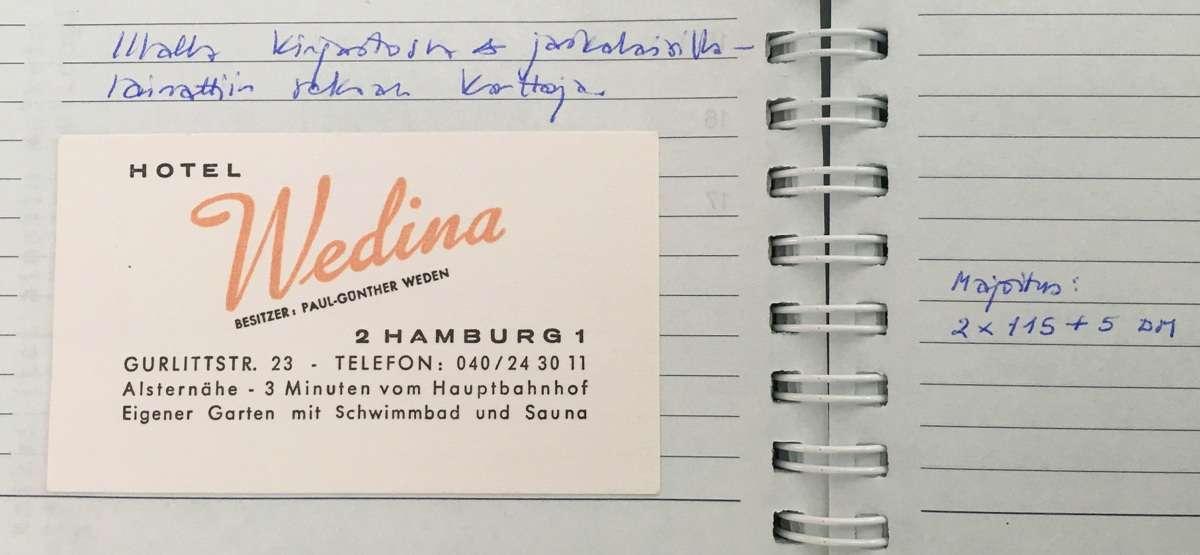 Hotel Wedina 1987