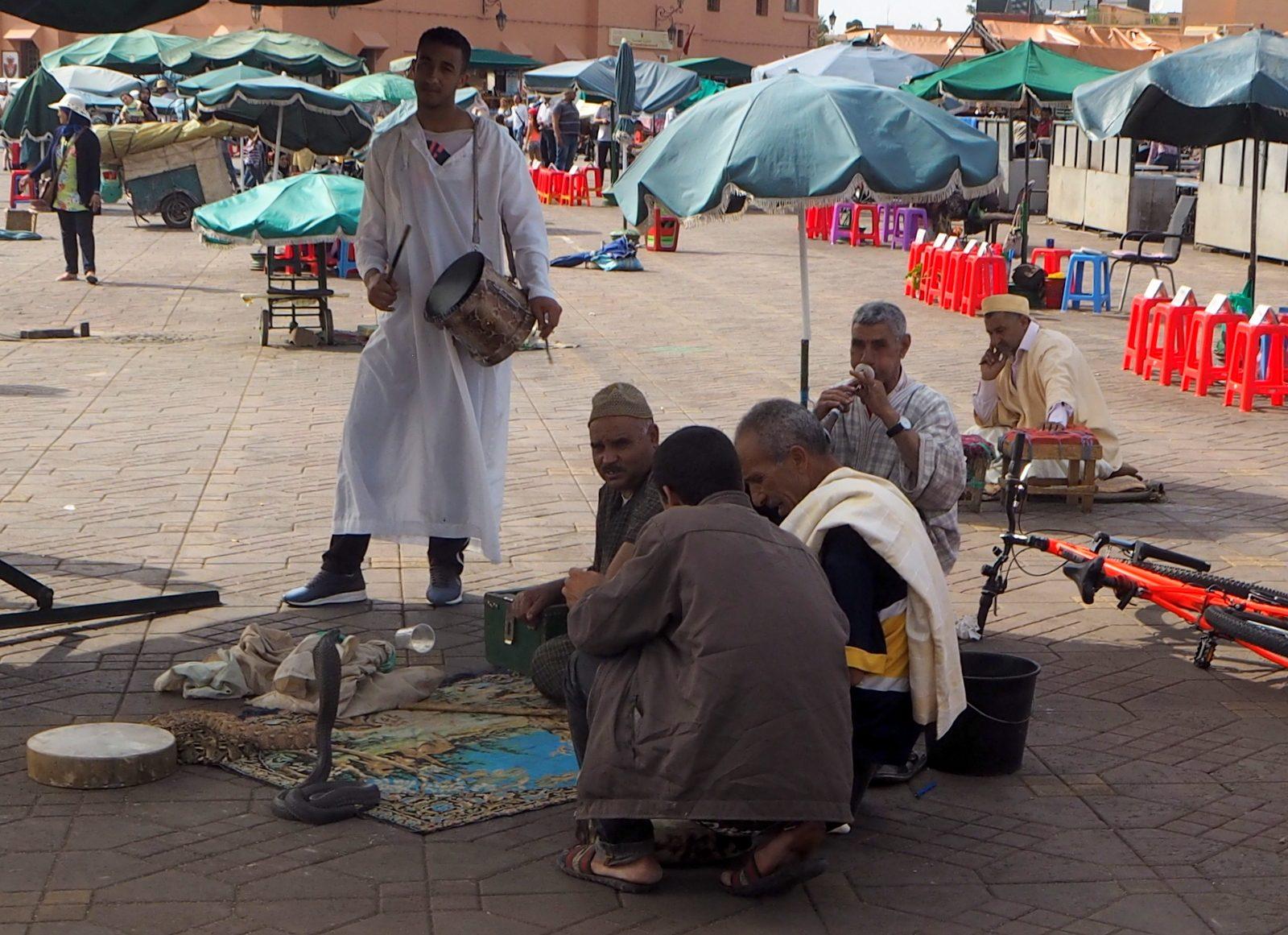 Marrakesh medina Jemal el-Fna