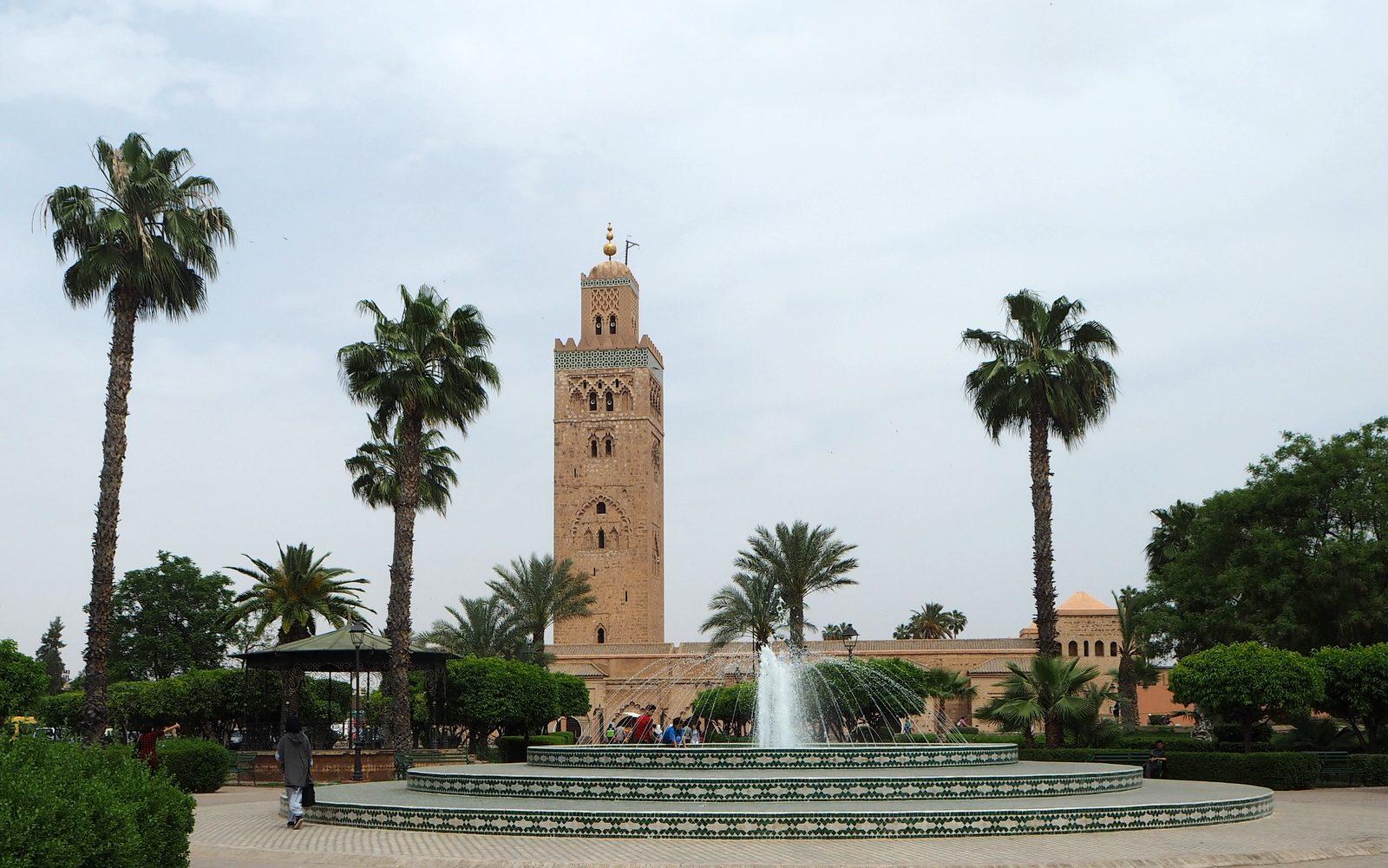 Marrakesh medina Koutobia