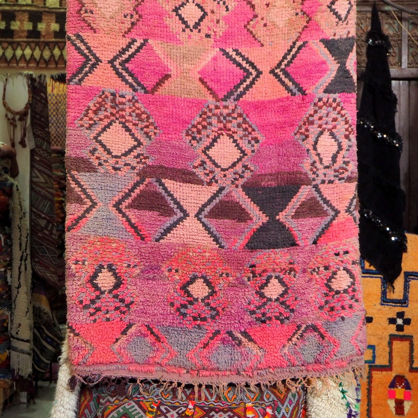 Marrakesh medina carpets Marrakeshin medina
