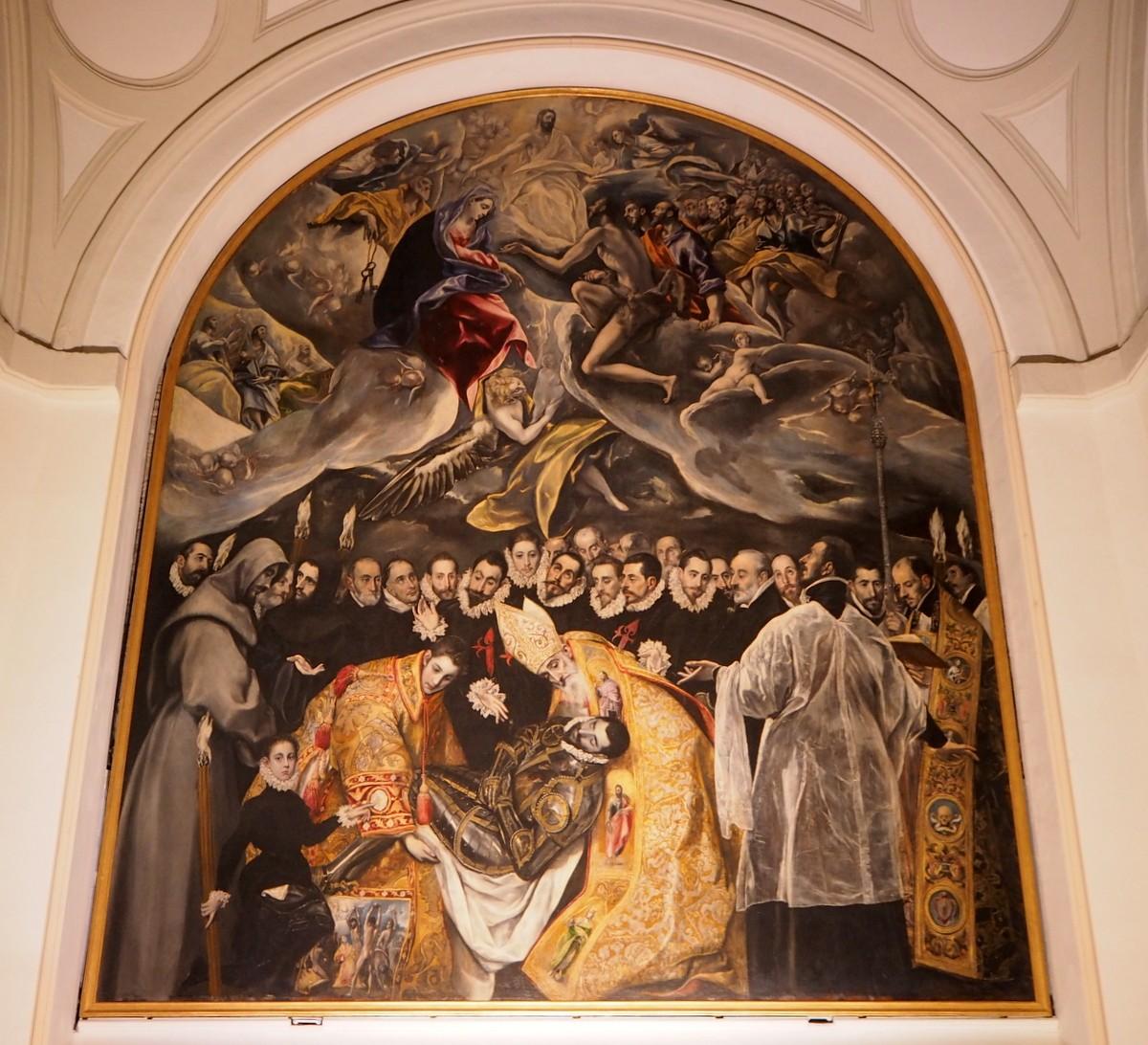 Santo Tome Greco Toledo