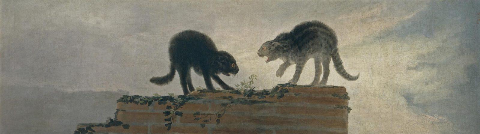 Goya Tappelevat kissat