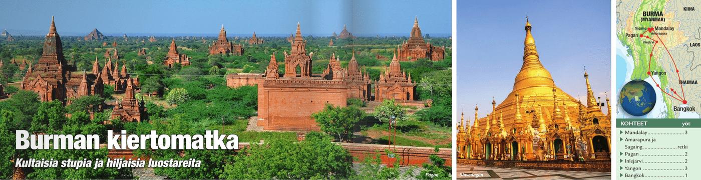 Olympia Burman kiertomatka