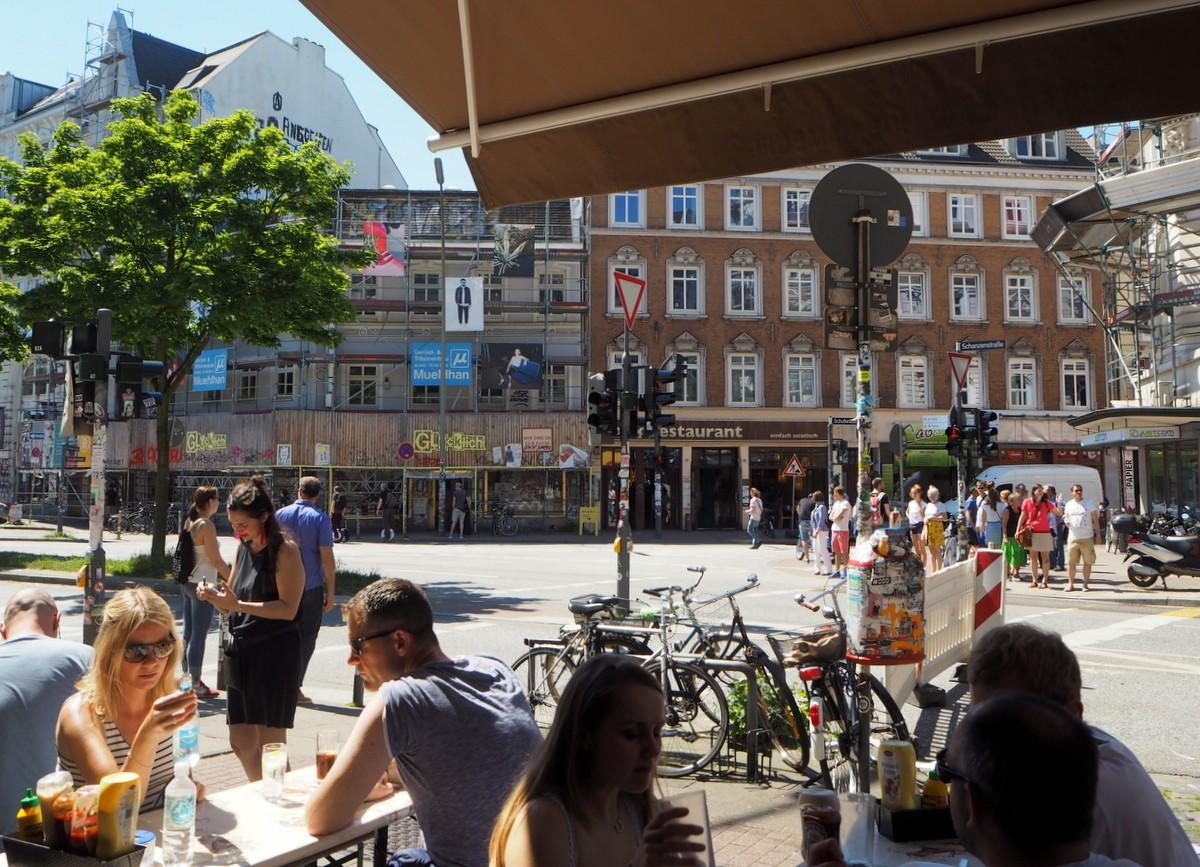 Schanzenstrasse Hampuri