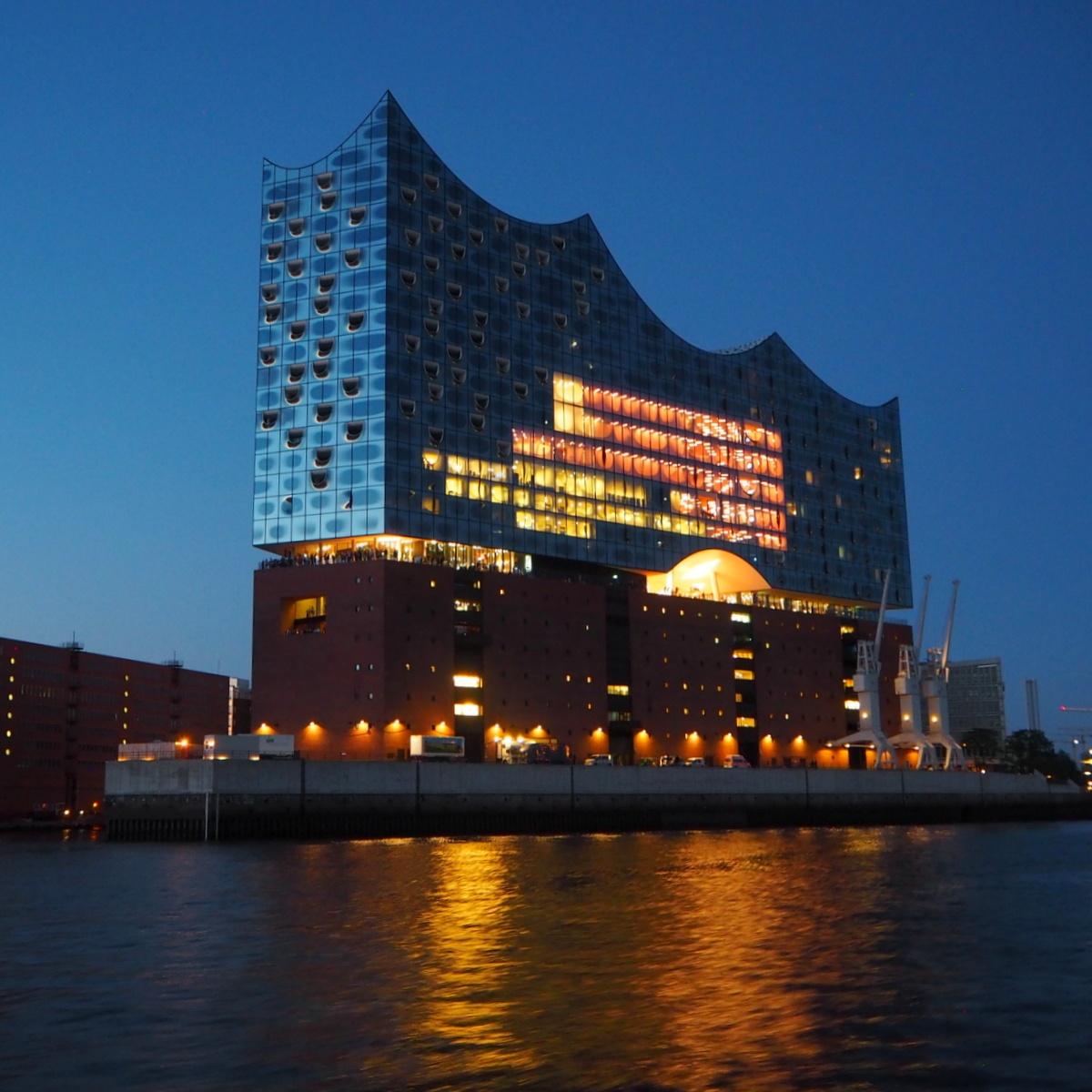 Elbphilmarmonie Hamburg Hampuri satama alue