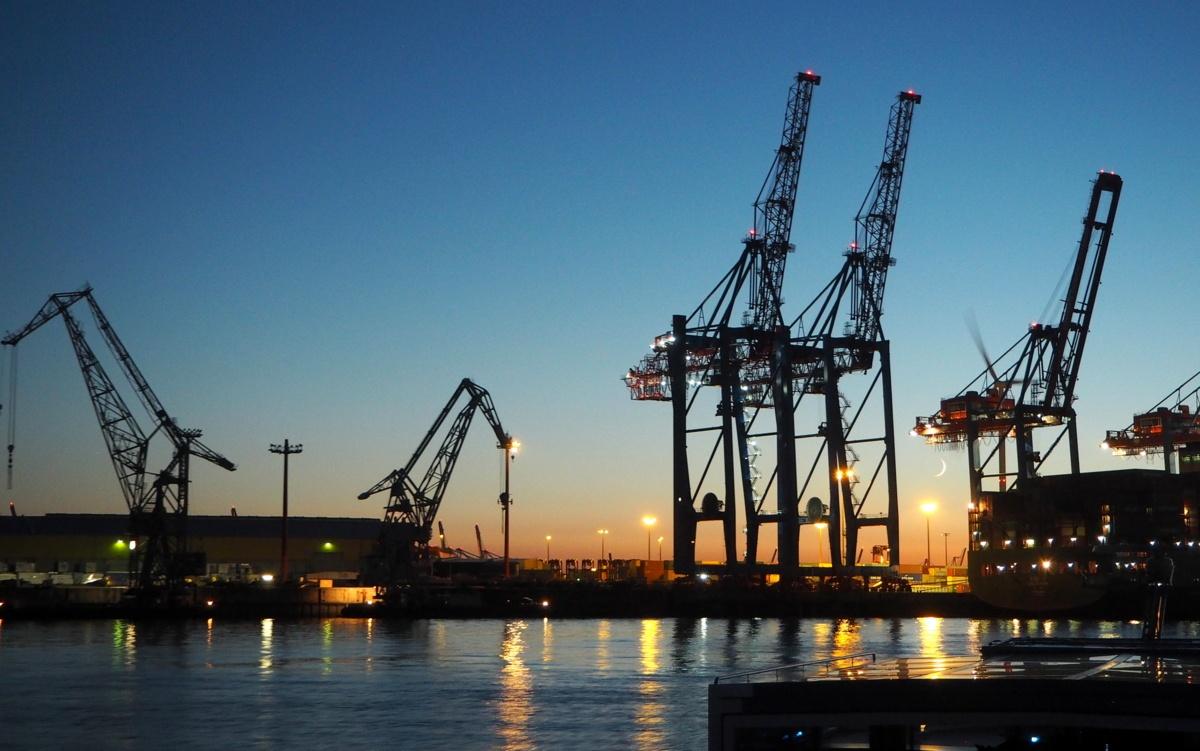 Hampuri satama alue