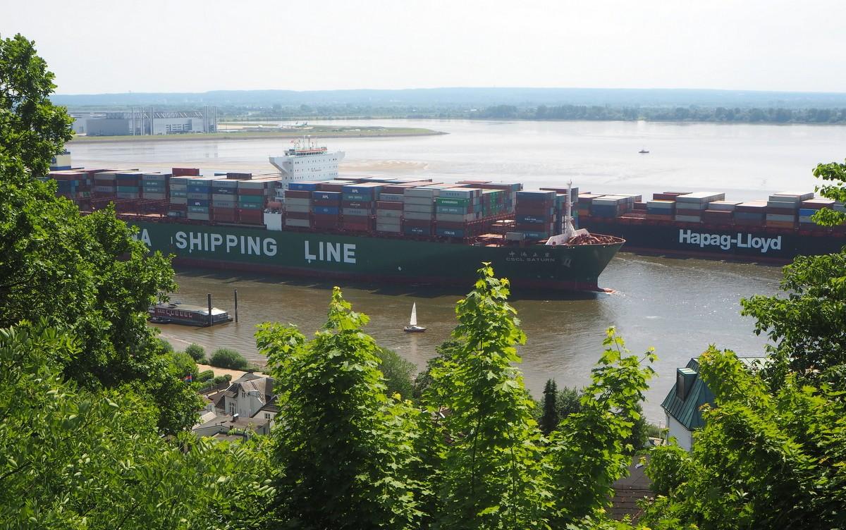 Hampuri Blankenese Elbe
