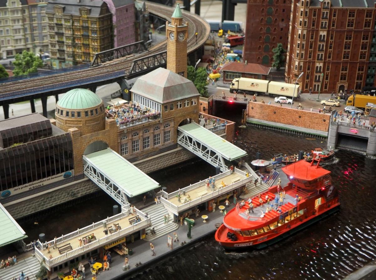 Miniatur Wunderland Hamburg Hampuri satama alue
