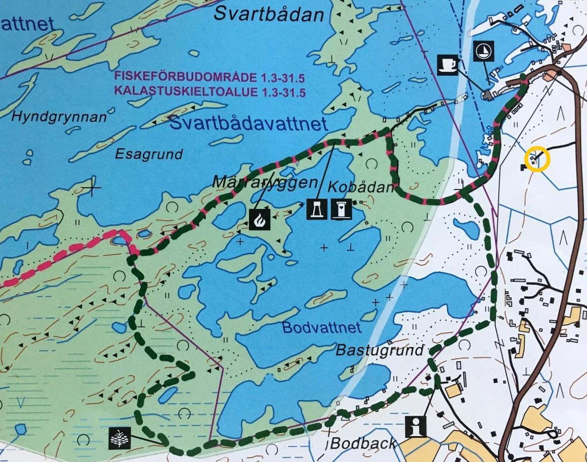 Luontopolku Svedjehamn