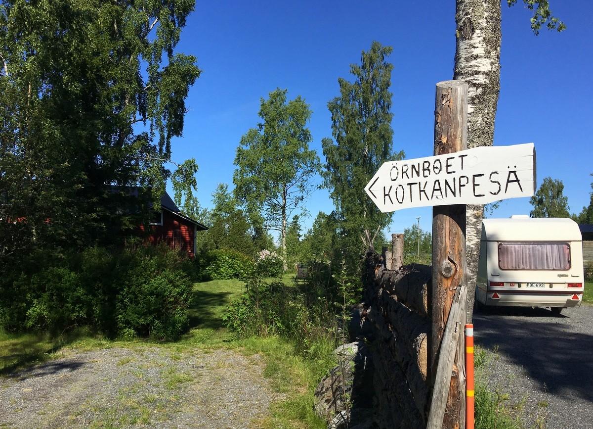 Kotkanpesä Svedjehamn