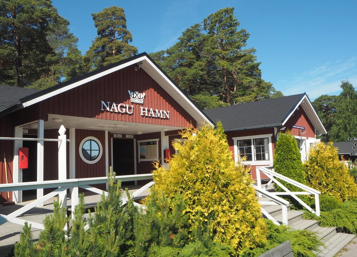 Nauvon satama Nagu Hamn