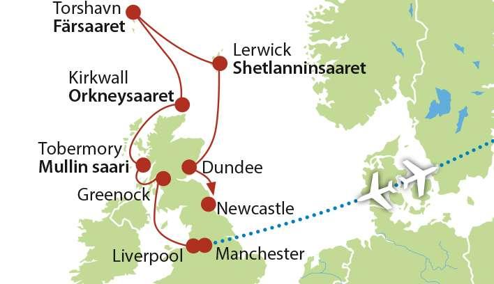 Skotlannin risteily Magellan