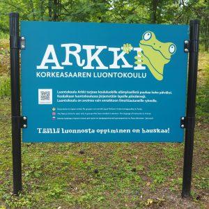 Luontokoulu Arkki Korkeasaari