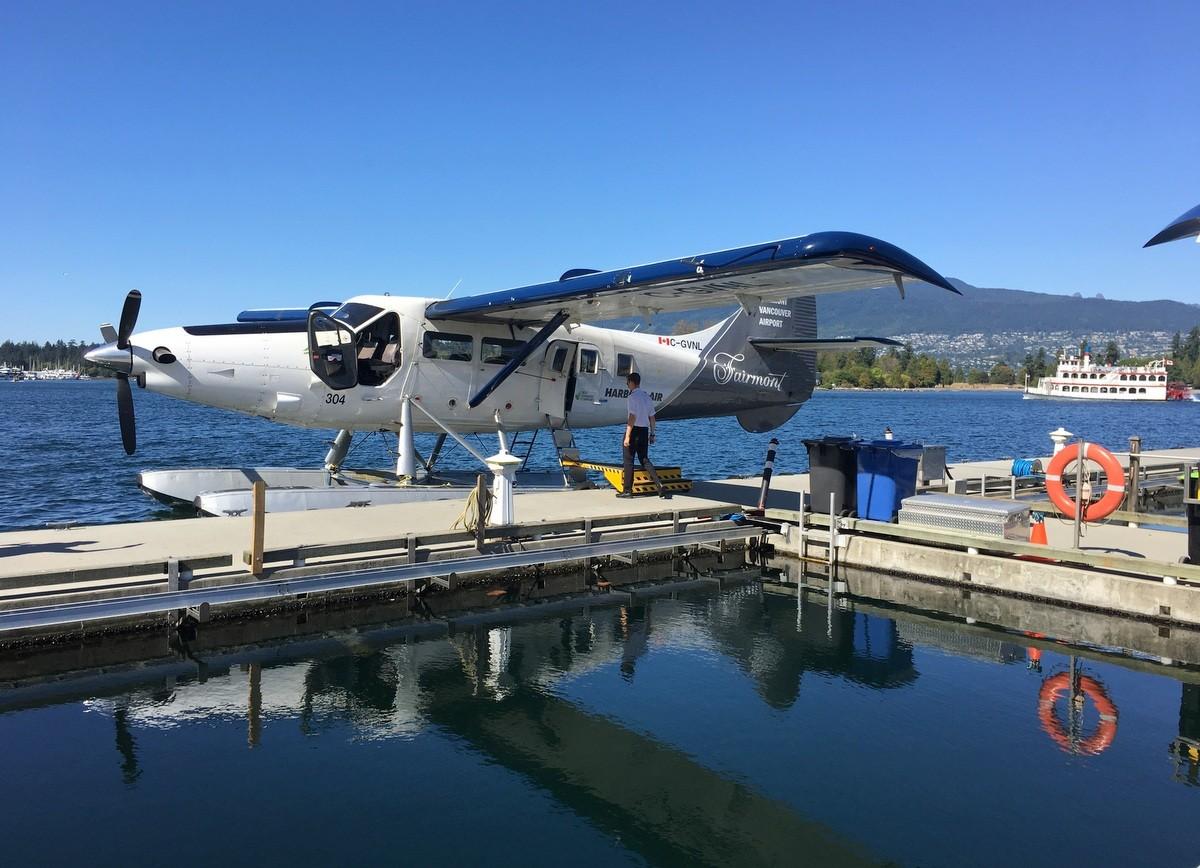 Vancouver Seaplane Harbour Vesitasolento Vancouver
