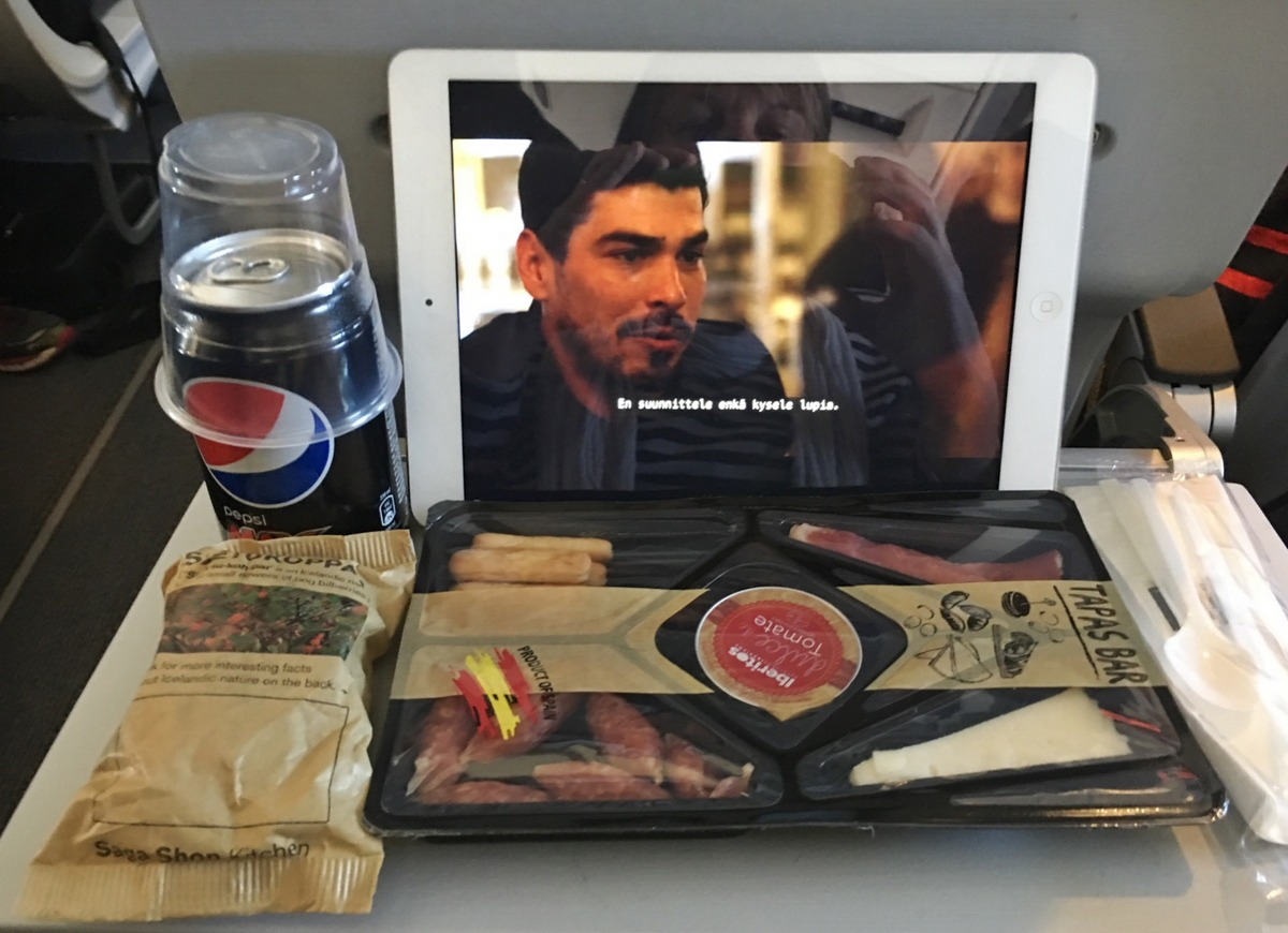 Icelandairin ruokia