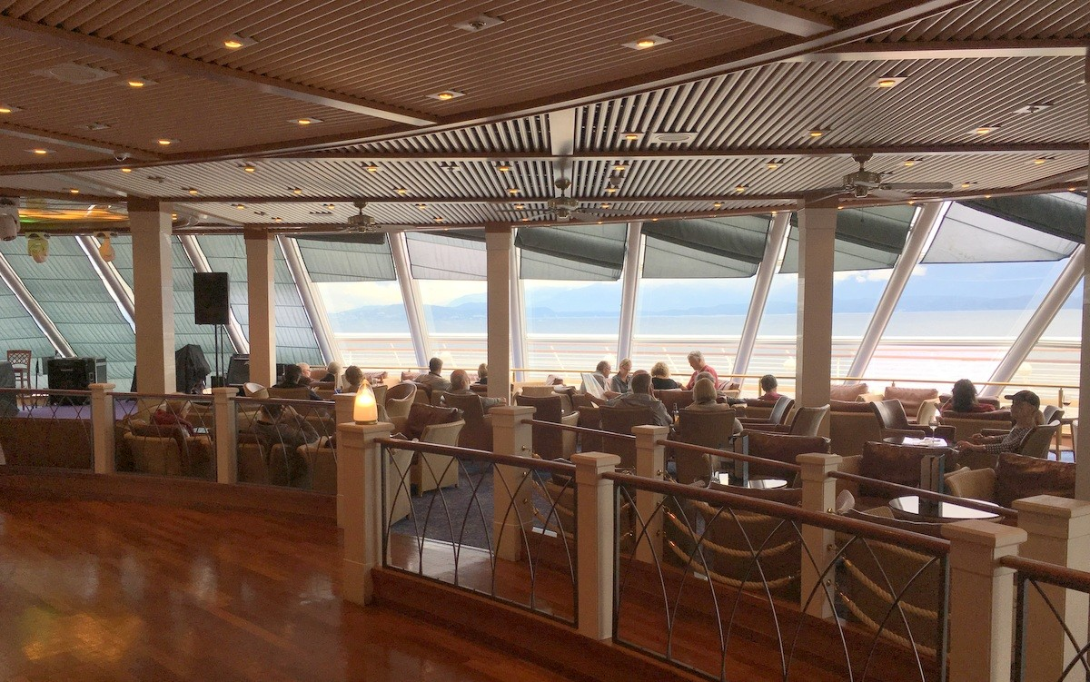 Norwegian Sun Observation Deck