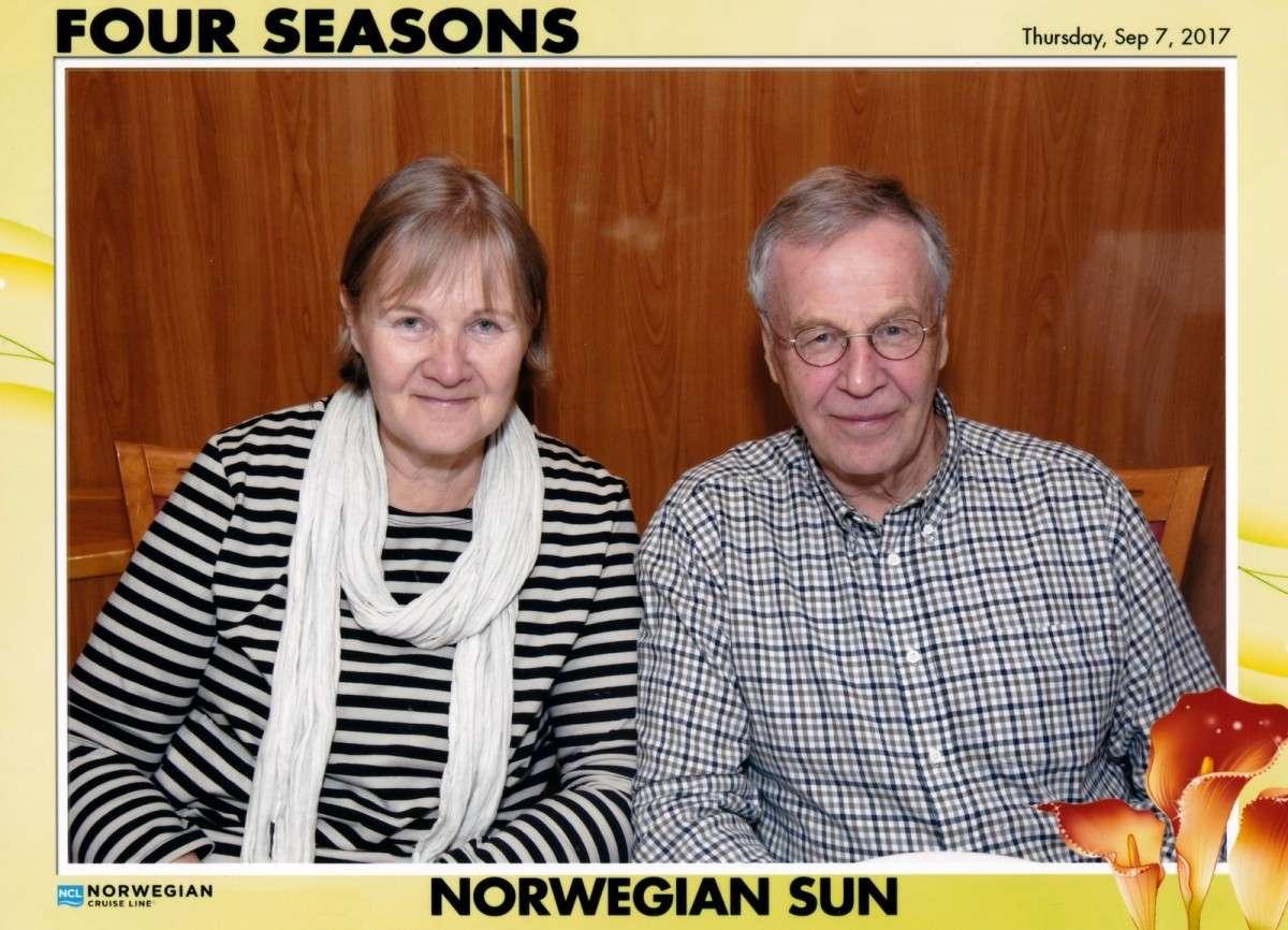 Norwegian Sun illallinen