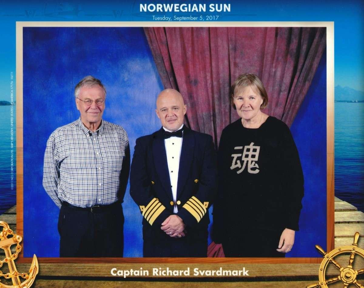 Norwegian Sun kapteenikuva