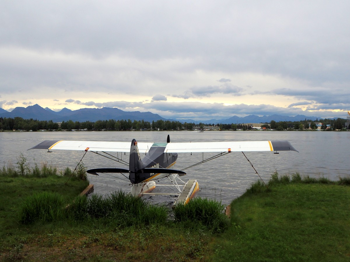 Anchorage seaplane harbour