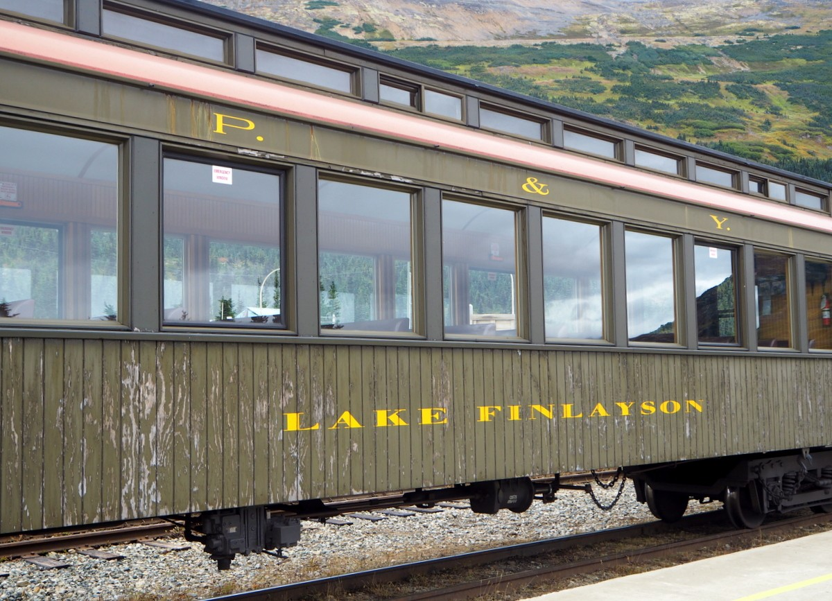 White Pass railway Yukon