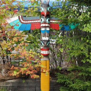 Toteemeja Ketchikan Alaska