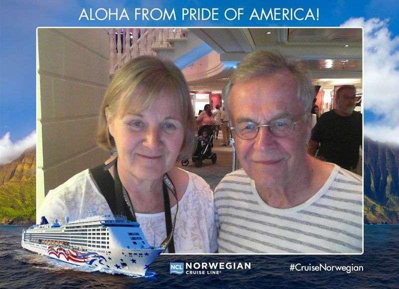Pride of America valokuva-automaatti