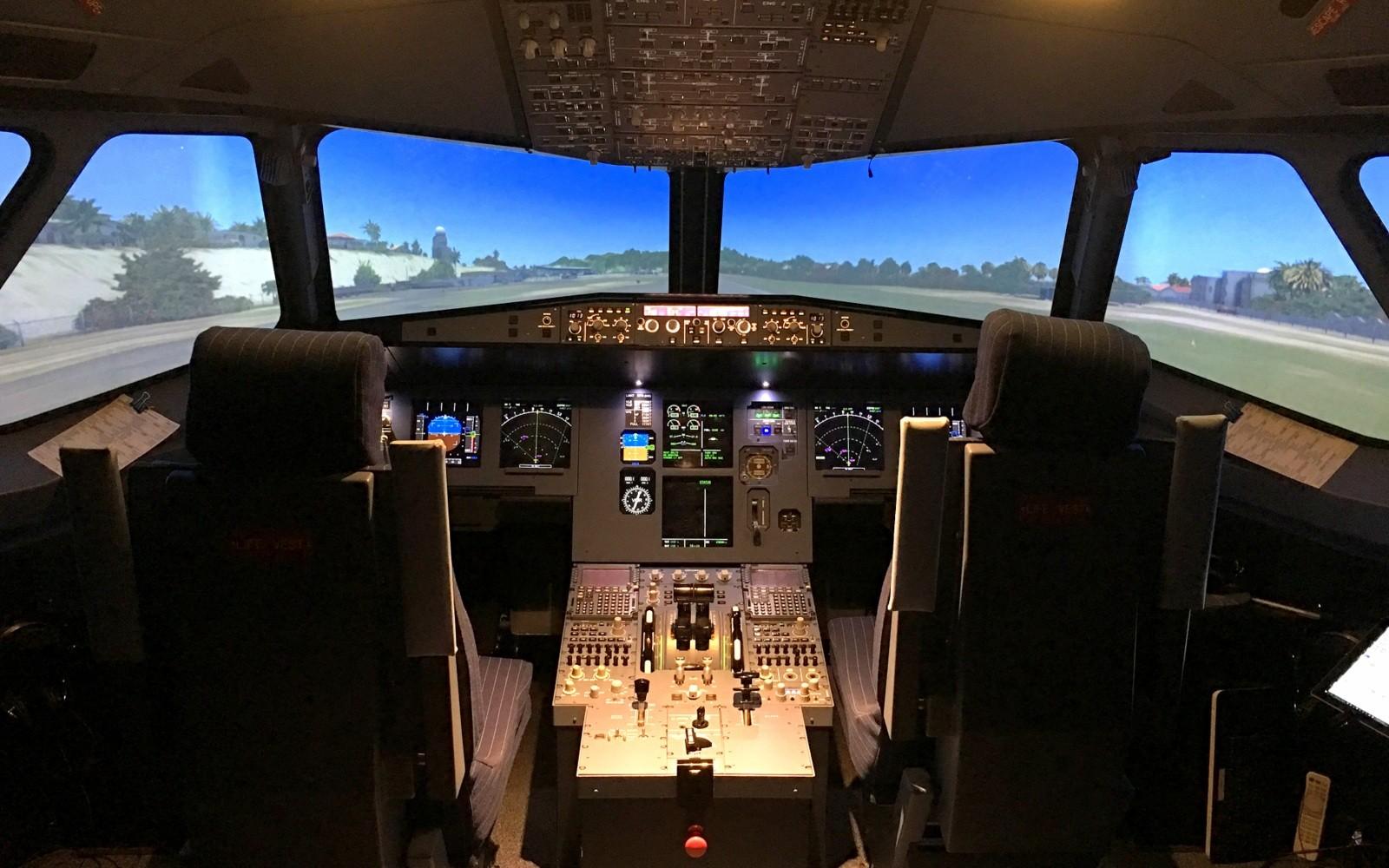 Lentosimulaattori Airbus A320 Takeoff lentosimulaattori