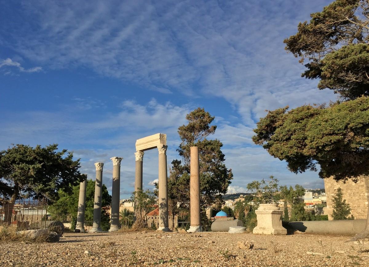 Libanon Byblos Koko Lähi-itä