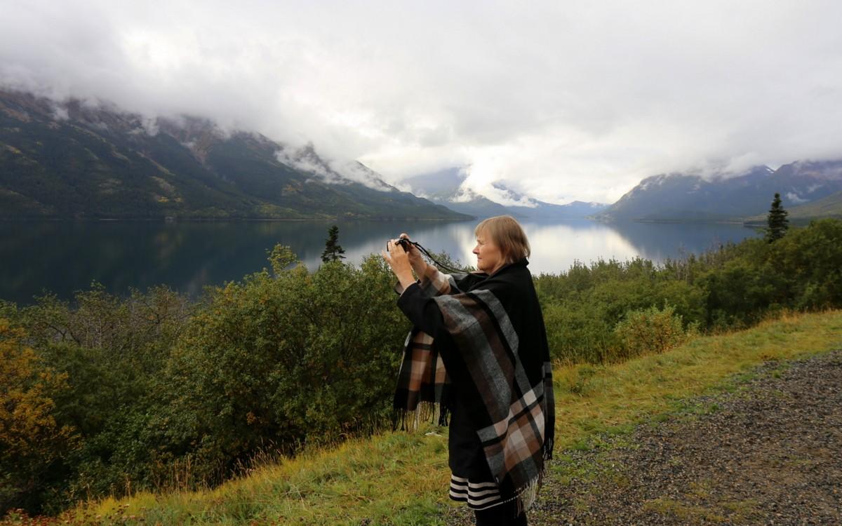 Viittamainen huopa lennolle kuva Alaska