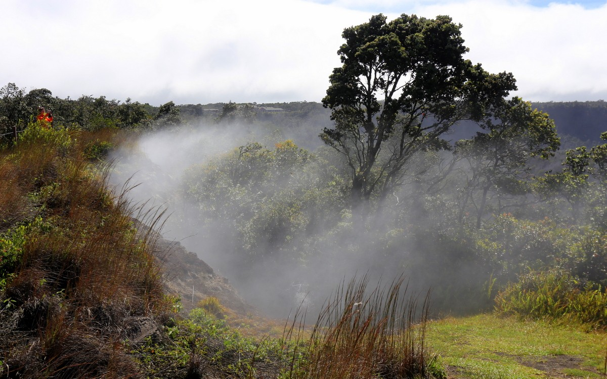 Hawaii Volcanoes National Park Big Island Hawaii Havaiji