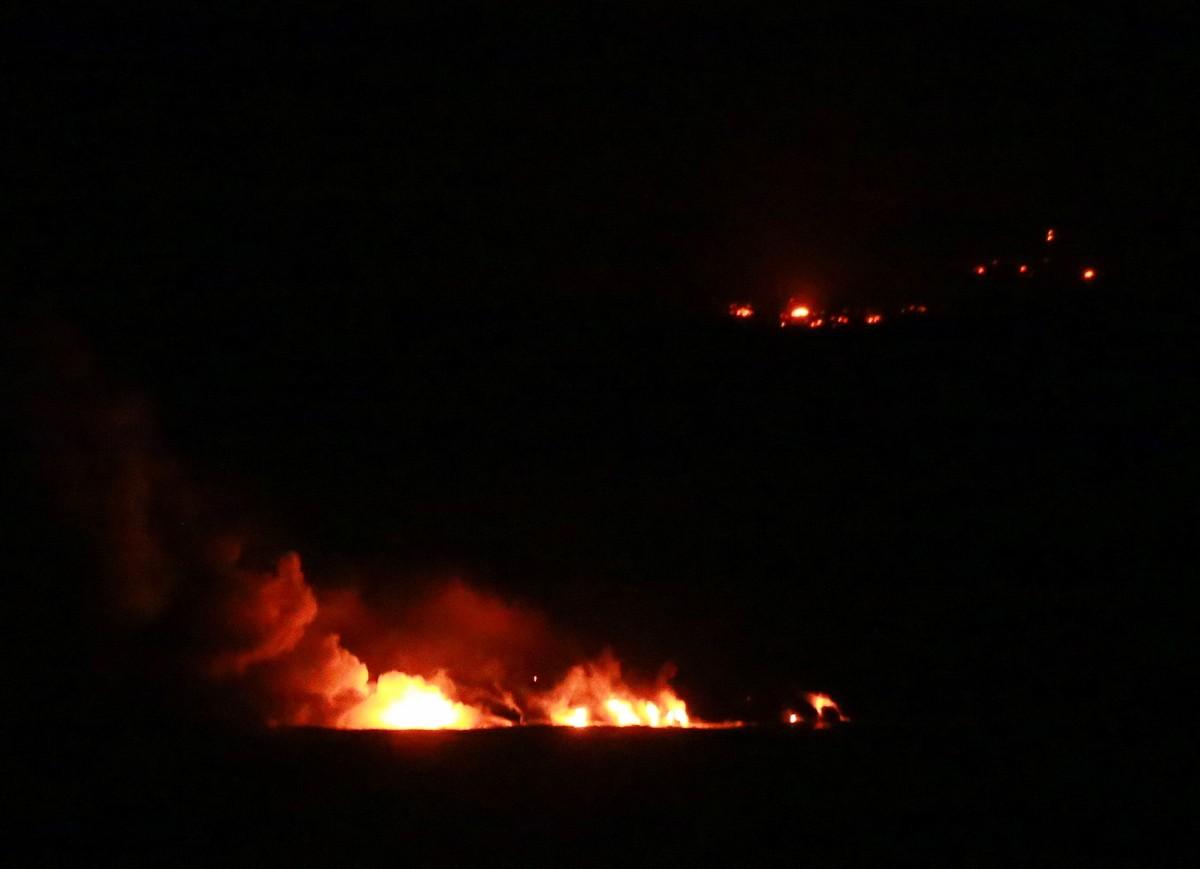 Kilauea by night Hawaii