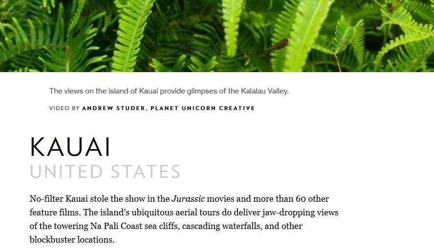 Kauai Best 2017