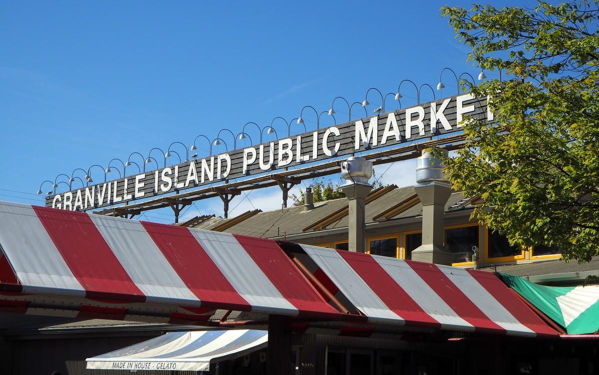 Granville Island Vancouver Vancouverin nähtävyydet