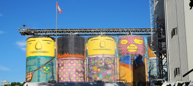 Vancouver feature Granville Island Giants