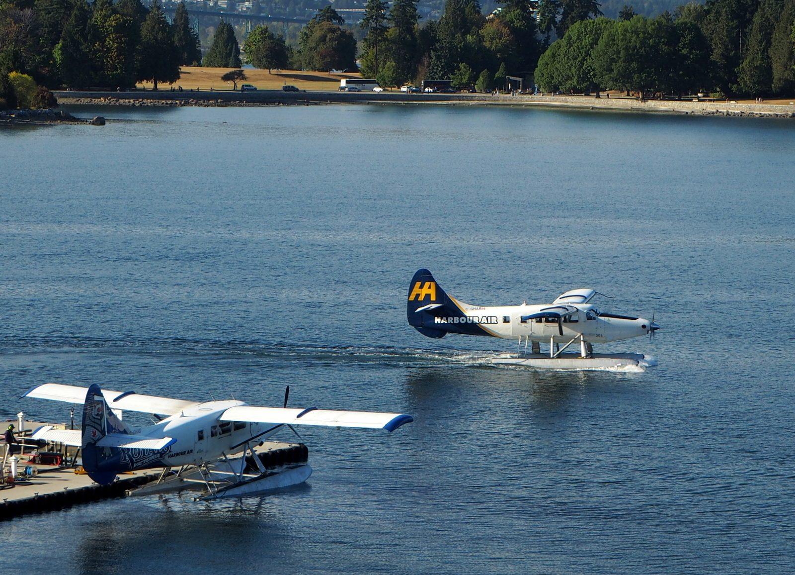 Sea Plane Harbour Vancouver