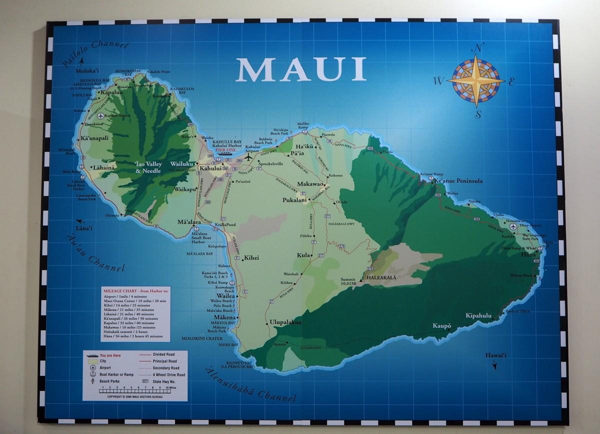 Maui kartta