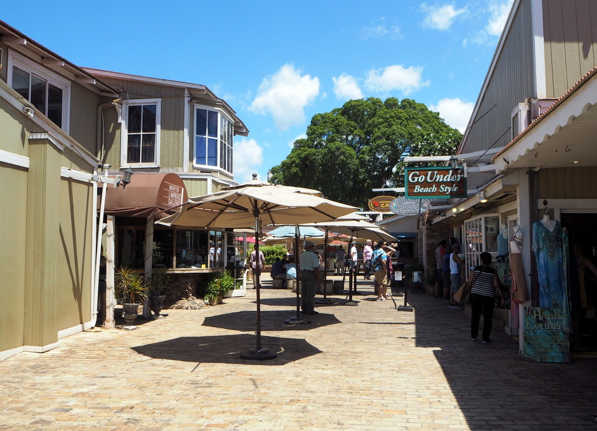 Maui shopping
