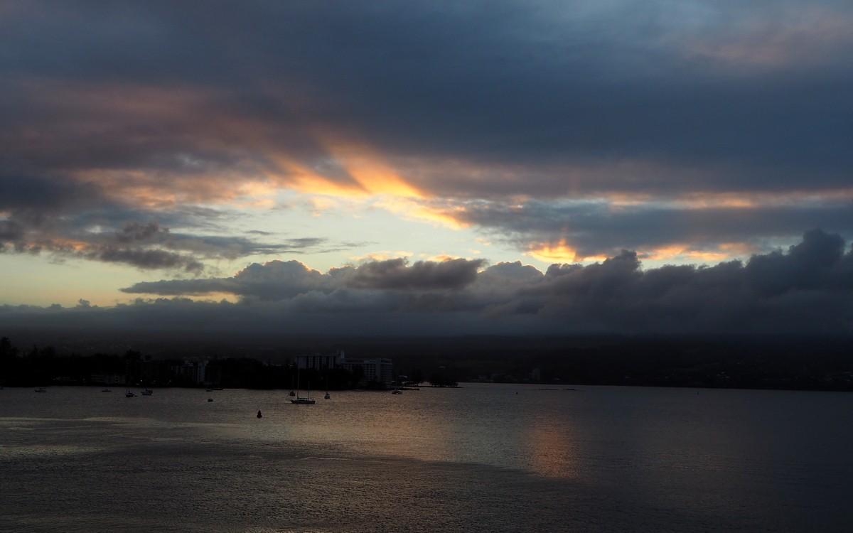 Sunset Hilo Hawaii