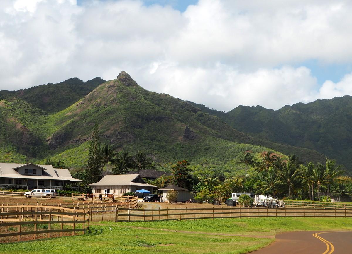 Kalalea Mountains Kauai Havaiji