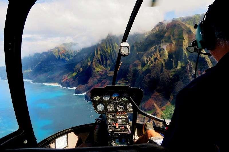 Kauai Na Pali Coast helikopteri