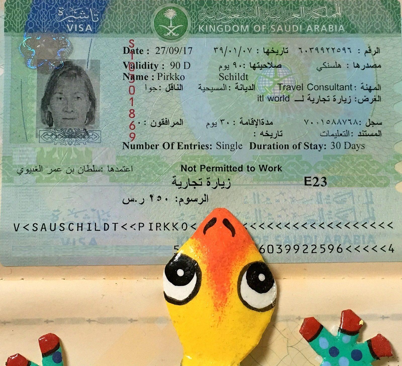 Viisumi Saudi-Arabia